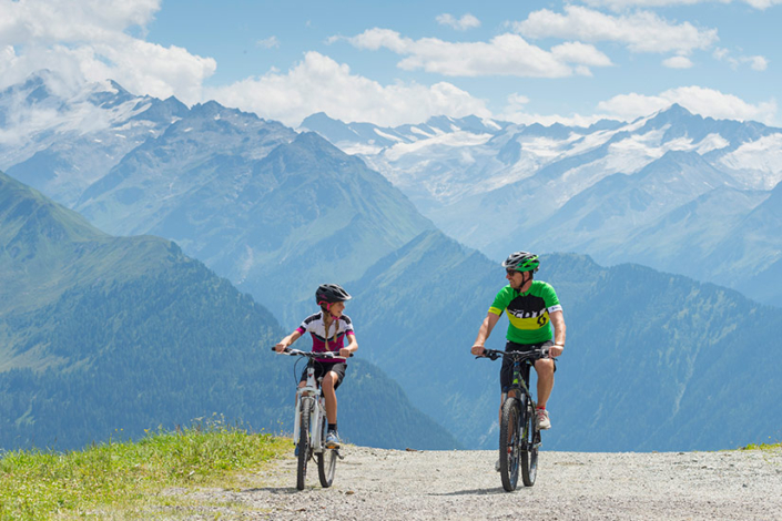 Ferienwohnung Kitzbüheler Alpen Mountainbike Tour
