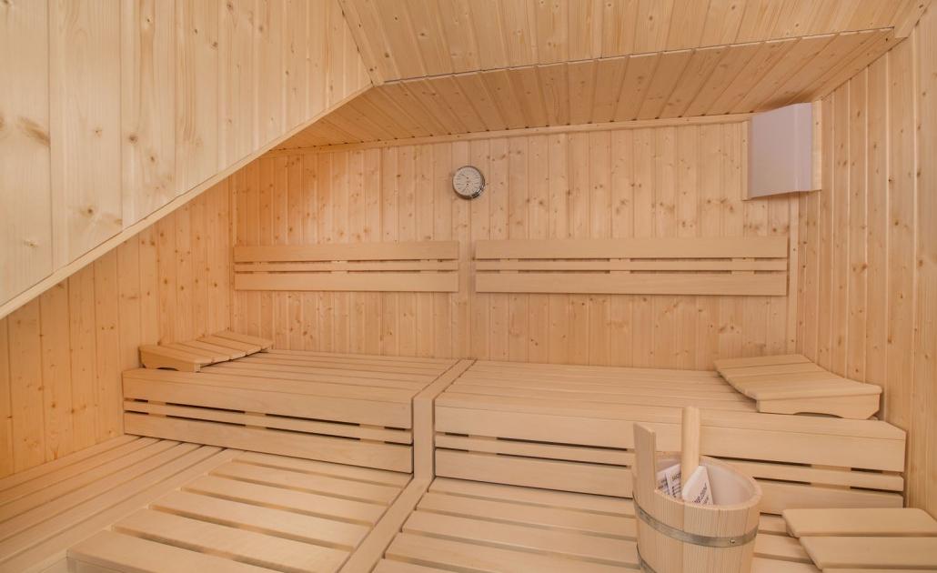 Ferienwohnung Kitzbüheler Alpen Sauna innen