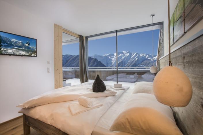 Ferienwohnung Kitzbüheler Alpen Schlafzimmer