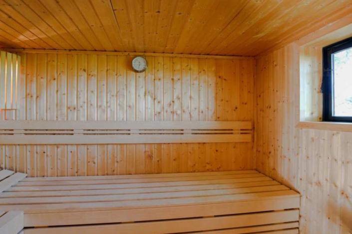 Mühle Fortuna Sauna innen